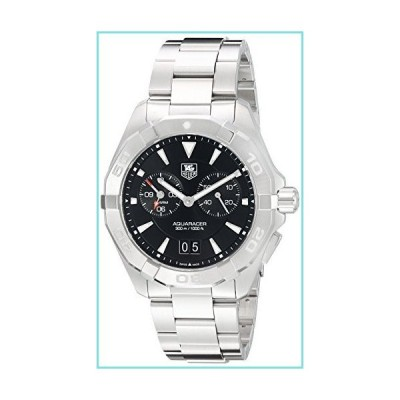 Tag Heuer Aquaracer メンズ腕時計 クロノグラフ ブラックダイヤル ステンレススチール WAY111Z.BA0928並行輸入品