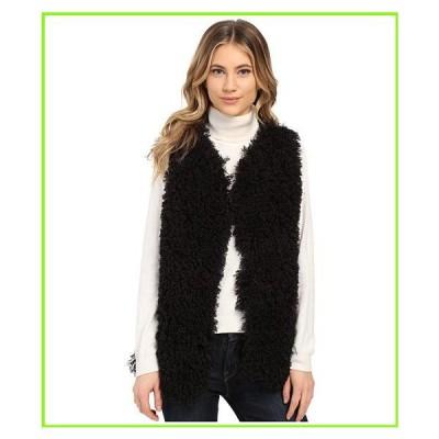 Gabriella Rocha Lucy Faux Fur Vest Gabriella Rocha Coats & Outerwear WOMEN レディース Black