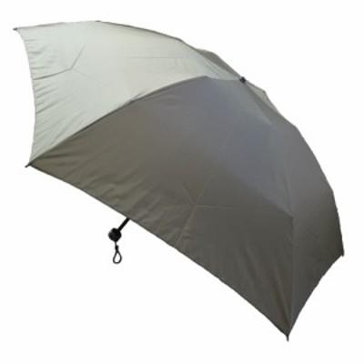 ボアドール カーボン無地 折りたたみ傘 65cm KO-111 カーキ│レインウェア・雨具 折り畳み傘