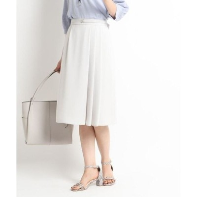 Reflect / リフレクト 【WEB限定カラー】ベルト付きフリュイドスカート
