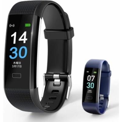 スマートブレスレット スマートウォッチ 2021最新版 活動量計 GPS運動記録 16種スポーツモード IP68防水 万歩計 心拍数 睡眠検測 女性生