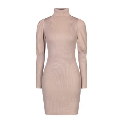 VANESSA SCOTT ミニワンピース&ドレス ベージュ one size レーヨン 70% / ポリエステル 30% ミニワンピース&ドレス