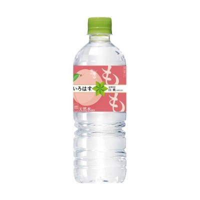 コカ・コーラ い・ろ・は・す もも 555ml ペットボトル 1ケース(24本)