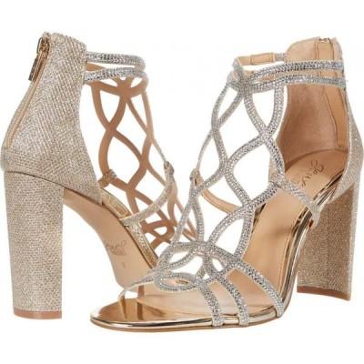 バッジェリー ミシュカ Jewel Badgley Mischka レディース シューズ・靴 Filimena II Light Gold/Clear