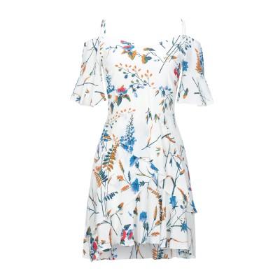 MAJE ミニワンピース&ドレス ホワイト 1 レーヨン 100% ミニワンピース&ドレス