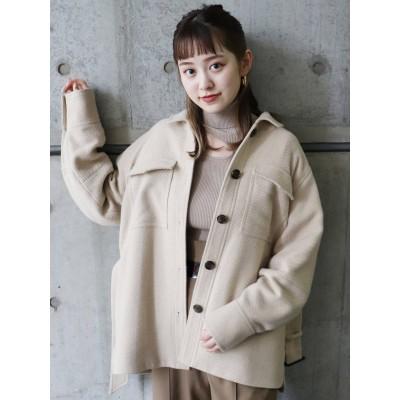 【公式】MURUA(ムルーア)ボリュームCPOシャツジャケット