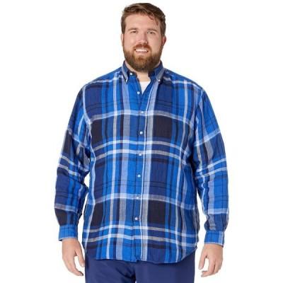 ラルフローレン メンズ シャツ トップス Big & Tall Plaid Linen Shirt