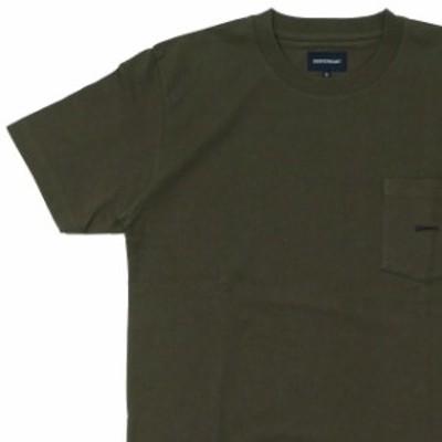 (2020新作)新品 ロンハーマン Ron Herman x ディセンダント DESCENDANT 20AW CACHALOT CROP SS Tシャツ OLIVE オリーブ 202ATDS-CSM01 半