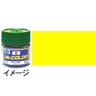 ミスターカラー イエロー(黄) 基本色 :クレオス 光沢塗料 ノンスケール C4
