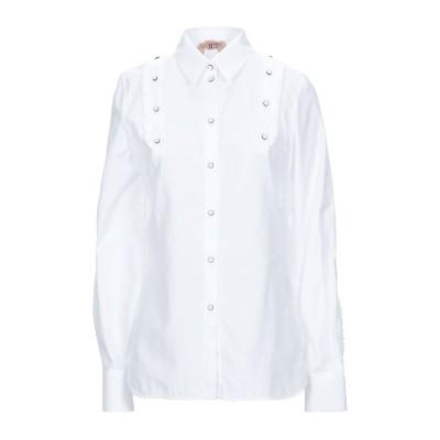 ヌメロ ヴェントゥーノ N°21 シャツ ホワイト 42 コットン 100% シャツ