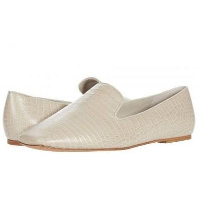 Vince ヴィンス レディース 女性用 シューズ 靴 ローファー ボートシューズ Clark - Cobblestone Soft Mini Croc Leather