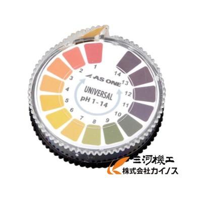 アズワン 1-1254-02 pH試験紙 ロール pH1-14