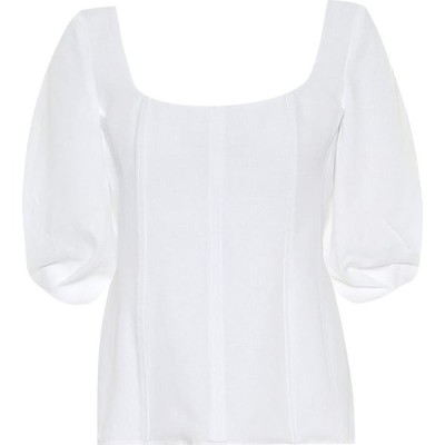 ガブリエラ ハースト Gabriela Hearst レディース トップス Hyades linen top Natural White