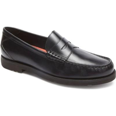 ロックポート ROCKPORT メンズ ローファー シューズ・靴 'Modern Prep' Penny Loafer Black