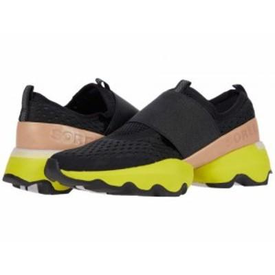 SOREL ソレル レディース 女性用 シューズ 靴 スニーカー 運動靴 Kinetic(TM) Impact Strap Black 1【送料無料】