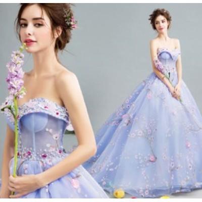 ブライズメイド ワンピース 大人エレガント 優雅 二次会 体型カバー aライン フォーマルドレス 着痩せ きれいめ 姫系ドレス
