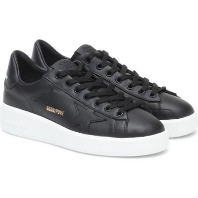ゴールデン グース Golden Goose レディース スニーカー シューズ・靴 Pure Star Leather Sneakers Black