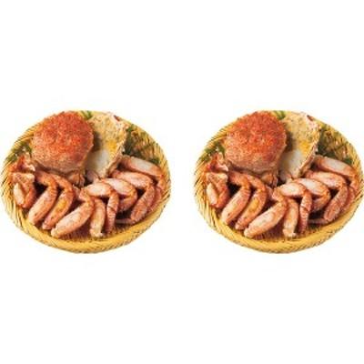【送料無料】北海道産 ボイル毛蟹半剥き身(1kg)【代引不可】【ギフト館】