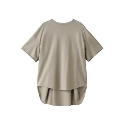 THE RERACS ザ・リラクス AラインTシャツ レディース グレージュ 1(36)