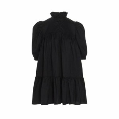 AVAVAV Black   Mini Ruffle Dress dress レディース 春夏2021 AV0101999BLACK ju