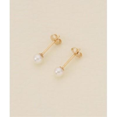 【イエナ】 Stud earrings 4mm ピアス レディース ナチュラル フリー IENA