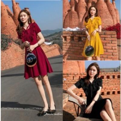 ミニドレス キャバドレス ドレスキャバ ミニ ワンピース パーティードレス 袖あり 半袖 Aライン 大きいサイズ