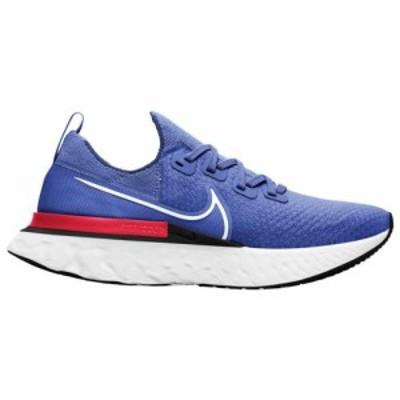 (取寄)ナイキ メンズ シューズ リアクト インフィニティ ラン フライニット Nike Men's Shoes React Infinity Run FlyknitRacer Blue Whi