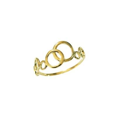 リング 指輪 サークル ゴールド イエローゴールド k18 18金 ファッションリング ゴールドリング イエローゴールドリング サークルリング プレゼント ギフト 人気