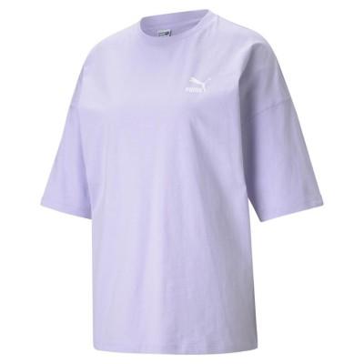 レディース【PUMA】 プーマ W CL ルース Tシャツ ショートスリーブ 599579 16L.LAVENDER M パープル