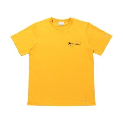コロンビア(Columbia) メンズ スウィンアベニューショートスリーブTシャツ Swin Avenue TM Short Sleeve Tee ブライトマリーゴールド/アニマル PM0090 772