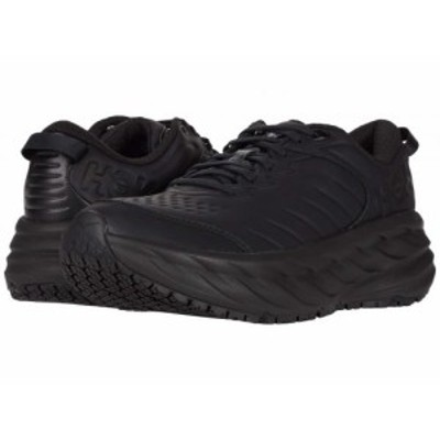 Hoka One One ホカオネオネ メンズ 男性用 シューズ 靴 スニーカー 運動靴 Bondi SR Black/Black【送料無料】