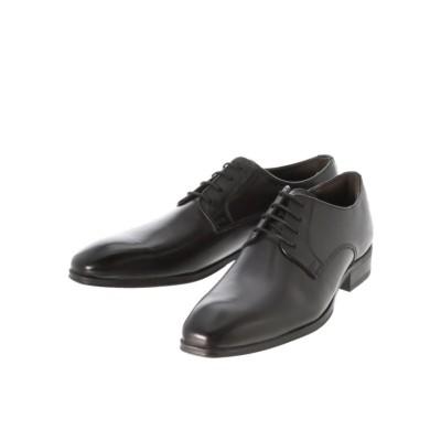 【タカキュー】 アラウンドザシューズ/around the shoes 外羽根プレーントゥ ドレスシューズ メンズ ブラック 42.0 TAKA-Q
