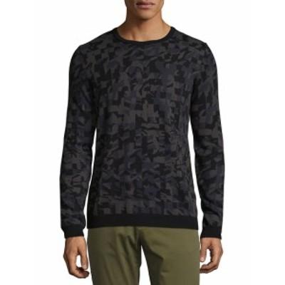 ヒューゴボス メンズ トップス セーター ニット Cotton Camouflage Sweatshirt