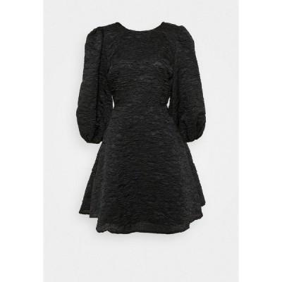 エヌ エー ケイ ディ ワンピース レディース トップス OPEN BACK TIE DRESS - Day dress - black
