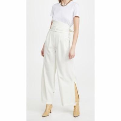 エムエスジーエム MSGM レディース ボトムス・パンツ Suit Pants Off White