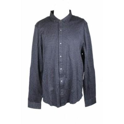 Michael Kors マイケルコルス ファッション アウター Michael Kors Navy White Flecked Jacquard Shirt XXL