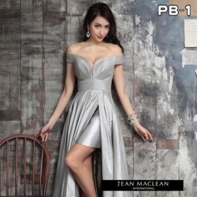 JEANMACLEAN ドレス ジャンマクレーン キャバドレス ナイトドレス ロングドレス jean maclean シルバー 9号 M 91519 クラブ スナック キ