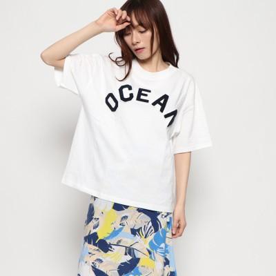 オーシャンパシフィック OCEAN PACIFIC レディス Tシャツ (WHT)
