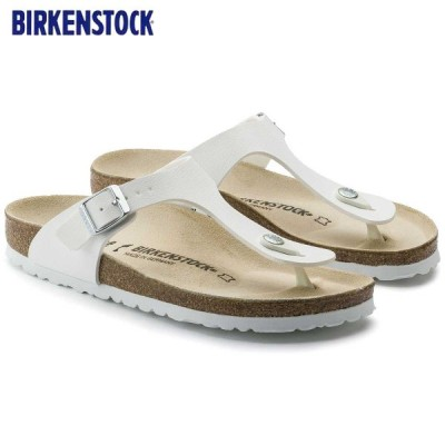 ビルケンシュトック BIRKENSTOCK  GIZEH(ギゼ)ホワイト GC 043731 (レギュラーフィット 幅広)