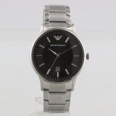 エンポリオアルマーニ 腕時計 メンズ AR11181 RENATO レナート ブラック