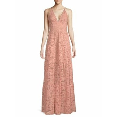 ドレスザポピュレーション レディース ワンピース Melina Lace Maxi Dress