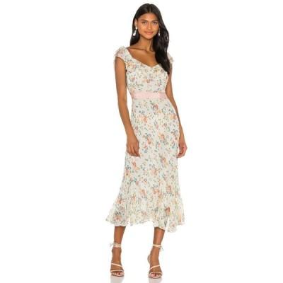 ラブシャックファンシー LoveShackFancy レディース ワンピース ワンピース・ドレス Faith Dress Floral Confetti