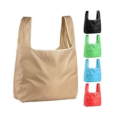 エコバッグ5枚セットコンビニバッグ 買い物バッグ 折りたたみ ショッピングバッグ 大容量 防水素材 軽量 買い物袋 レジカゴバッグ コンパク