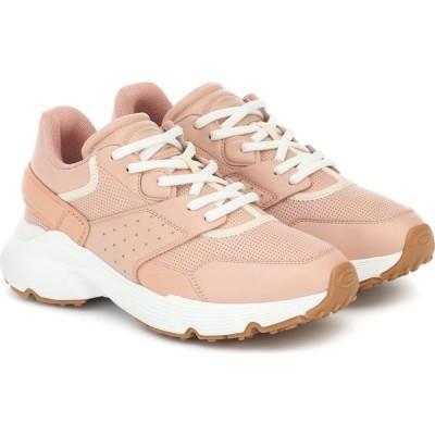 トッズ Tod's レディース スニーカー シューズ・靴 Leather Sneakers Rosa Kiss