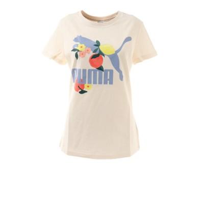 プーマ(PUMA)CLASSICS グラフィックス レギュラーフィット グラフィック Tシャツ 599617 75 WHT