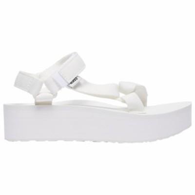 テバ Teva レディース サンダル・ミュール シューズ・靴 Flatform Universal Bright White