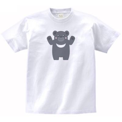 ツキノワグマ 動物・生き物 Tシャツ