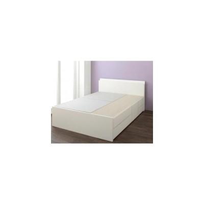ベッドフレーム ベッド セミシングル 1人暮らし ワンルーム 組立設置付 日本製 棚 コンセント付き 大容量チェストベッド ベッドフレームのみ セミシングル