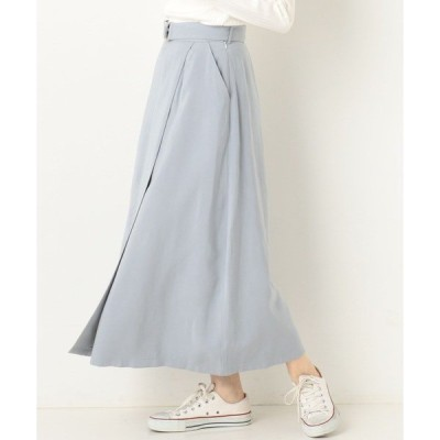 スカート ラップ風スカート