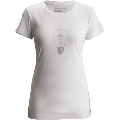 ブラックダイヤモンド Black Diamond レディース Tシャツ トップス BD Idea T-Shirt White